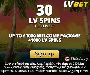 Latest bonus from LVbet Casino