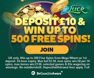Latest bonus from Vegas Luck Casino